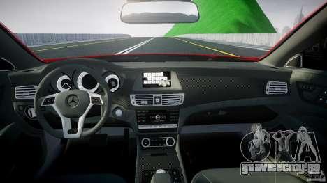Mercedes-Benz CLS 63 AMG 2012 для GTA 4 вид справа