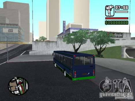 ЛиАЗ 5256.25-II для GTA San Andreas вид слева