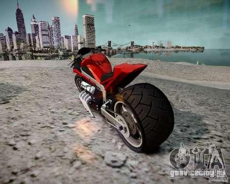 Drag Bike для GTA 4 вид слева