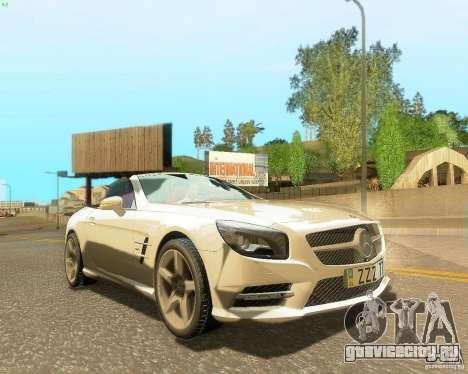 Mercedes-Benz SL350 2013 для GTA San Andreas двигатель