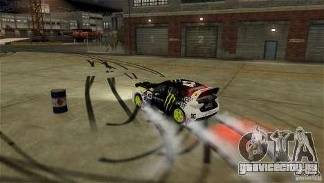 Subaru Impreza WRX STI Rallycross Monster Energy для GTA 4 салон