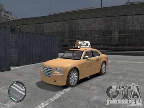 Chrysler 300c Taxi v.2.0 для GTA 4
