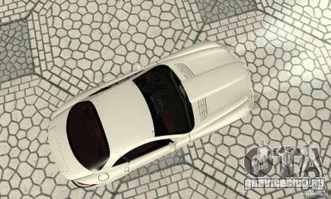 Mercedes-Benz McLaren V2.3 для GTA San Andreas вид сзади
