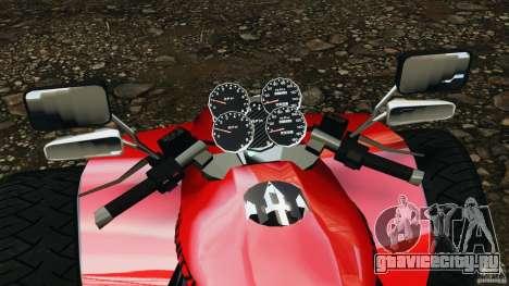 ATV PCJ Sport для GTA 4 вид сзади