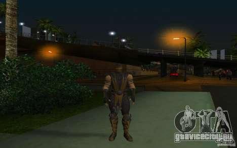 Scorpion v2.2 MK 9 для GTA San Andreas второй скриншот