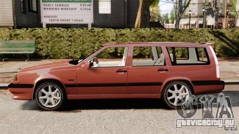 Volvo 850 Wagon 1997 для GTA 4 вид слева
