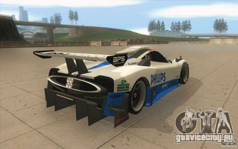 Pagani Zonda Racing Edit для GTA San Andreas вид сбоку