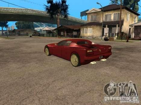 HD Cheetah для GTA San Andreas вид слева