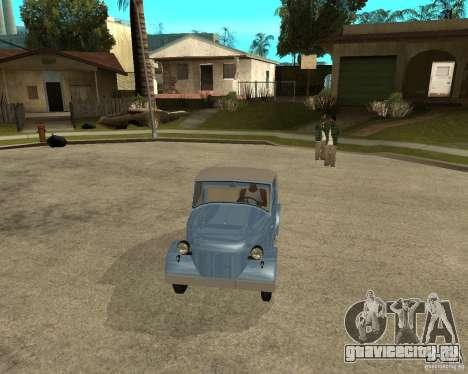 СМЗ С-3А для GTA San Andreas вид сзади