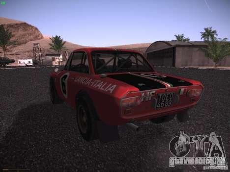 Lancia Fulvia Rally для GTA San Andreas вид слева