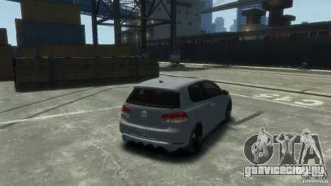 Volkswagen Golf GTI для GTA 4 вид слева