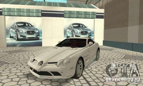 Mercedes-Benz McLaren V2.3 для GTA San Andreas вид слева