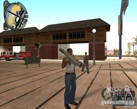 S.T.A.L.K.E.R. Call of Pripyat HUD for SA v1.0 для GTA San Andreas третий скриншот