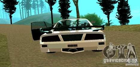 New Turismo для GTA San Andreas вид сзади