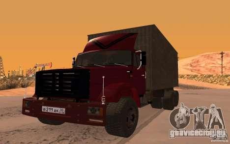 ЗИЛ 6309 для GTA San Andreas вид справа