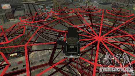 Smith Thunderbolt Mafia II для GTA 4 вид снизу