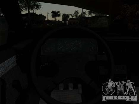FSO Polonez Caro Orciari 1.4 GLI 16v для GTA San Andreas вид сверху