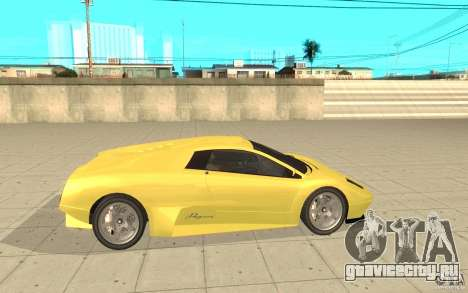 Infernus из GTA 4 для GTA San Andreas