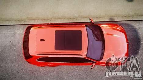 BMW X5M Chrome для GTA 4 вид снизу