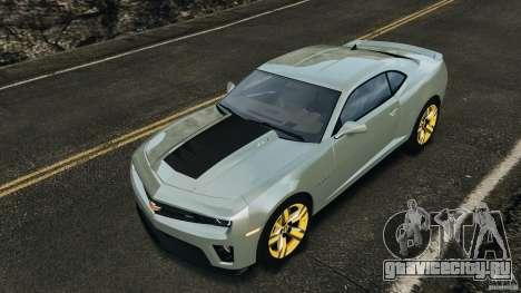 Chevrolet Camaro ZL1 2012 v1.2 для GTA 4 двигатель