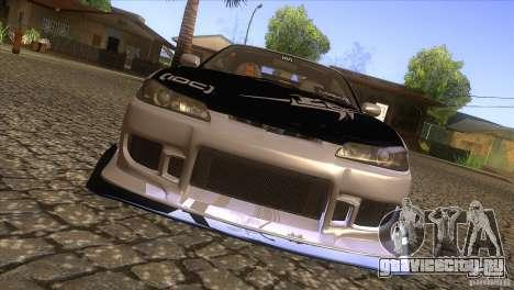 Nissan Silvia S15 Logan для GTA San Andreas вид изнутри