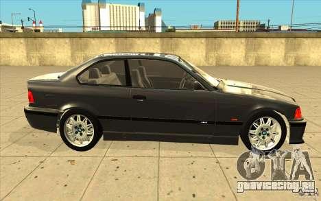 BMW E36 M3 - Stock для GTA San Andreas вид изнутри