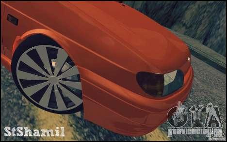 Ваз 2114 Juicy Orange для GTA San Andreas вид сбоку
