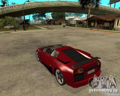Lamborghini Murcielago SHARK TUNING для GTA San Andreas вид слева