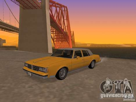 Oldsmobile Cutlass v2 1985 для GTA San Andreas
