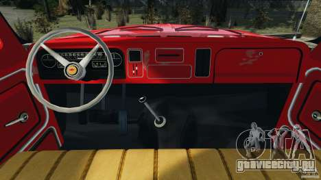 Chevrolet C20 Towtruck 1966 для GTA 4 вид сзади