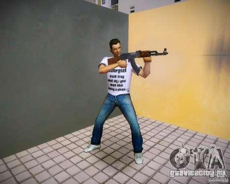 Пак оружия из GTA4 для GTA Vice City пятый скриншот