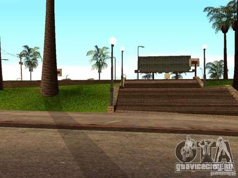 Новая баскетбольная площадка в Лос Сантосе для GTA San Andreas пятый скриншот
