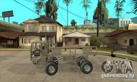 Fast Five Sand King для GTA San Andreas вид слева