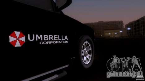 Chevrolet Suburban 2003 для GTA San Andreas вид сзади слева