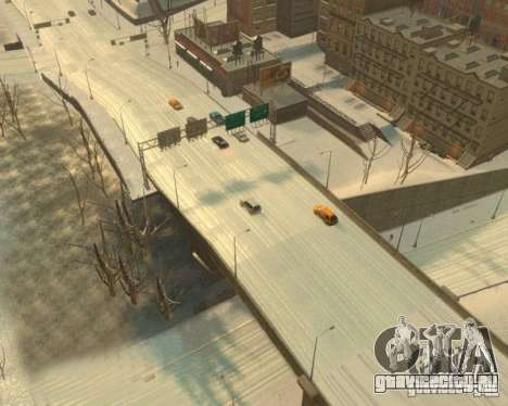 Гололёд для GTA 4 третий скриншот