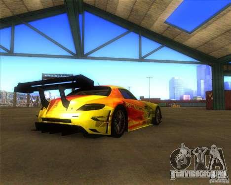 Mercedes SLS AMG - SpeedHunters Edition для GTA San Andreas вид слева