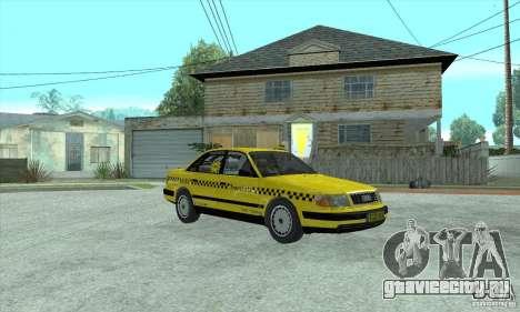 Audi 100 C4 (Taxi) для GTA San Andreas вид слева