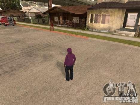 Капюшон для GTA San Andreas второй скриншот