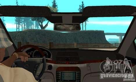 Mercedes Benz AMG S65 DUB для GTA San Andreas вид справа