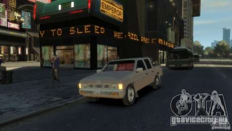 Nissan Pick-Up 1997 для GTA 4