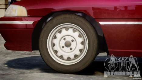 Mercury Tracer 1993 v1.0 для GTA 4 колёса