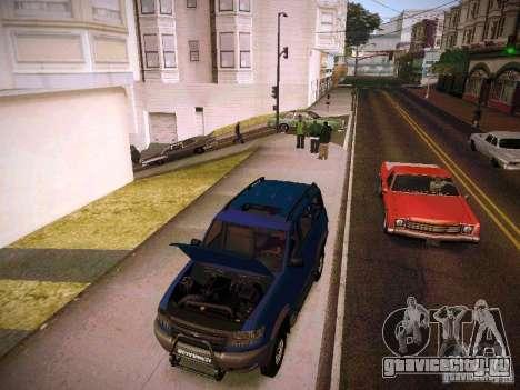 УАЗ 3160 Патриот для GTA San Andreas вид сбоку