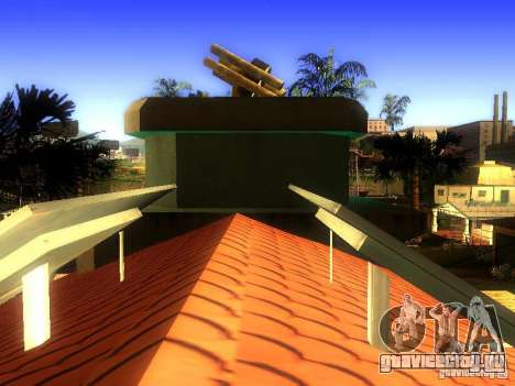База Гроув стрит для GTA San Andreas восьмой скриншот
