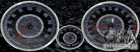 Скрипт Chevrolet Camaro Spedometr для GTA San Andreas