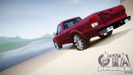 Ford Ranger для GTA 4 двигатель