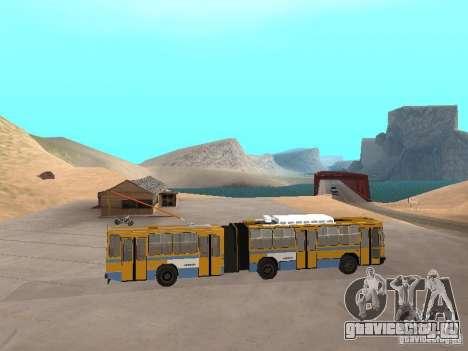 Прицеп ЮМЗ Т1 для GTA San Andreas вид сзади слева