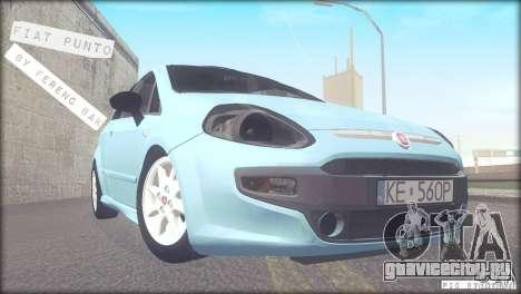 Fiat Punto для GTA San Andreas