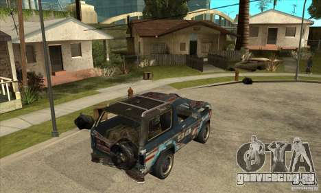 Blaster XL from FlatOut2 для GTA San Andreas вид справа