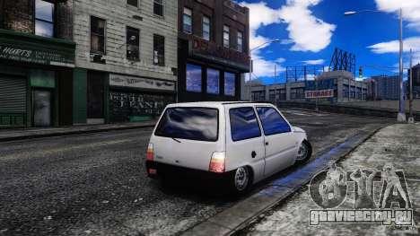 ВАЗ Ока 1111 для GTA 4 вид сзади слева