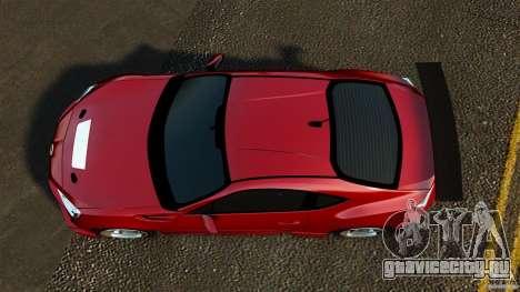 Subaru BRZ 2013 для GTA 4 вид справа
